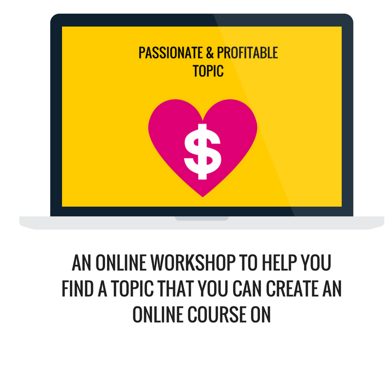 how to create a course on your favorite topic