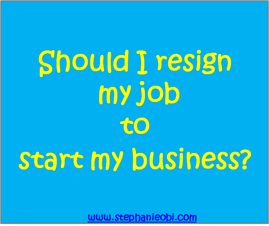 resign from a job